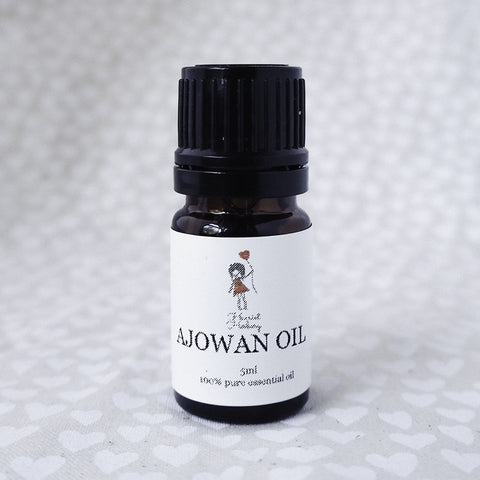 Ajowan Oil 5ml - Harriet Herbery