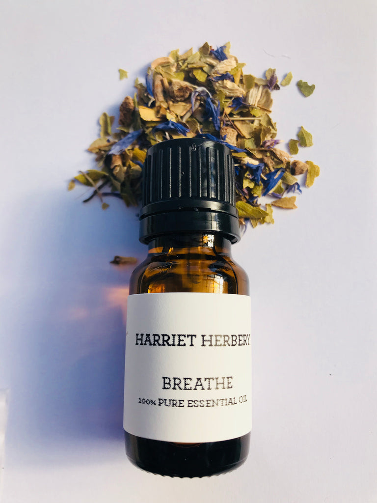 Breathe - synergy blend - Harriet Herbery