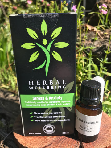 Anxiety pack - Herbal Tonic and Aromatic Synergy Blend - Harriet Herbery