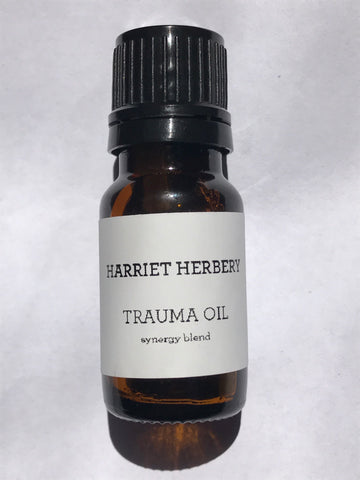 Trauma Oil - synergy blend - Harriet Herbery