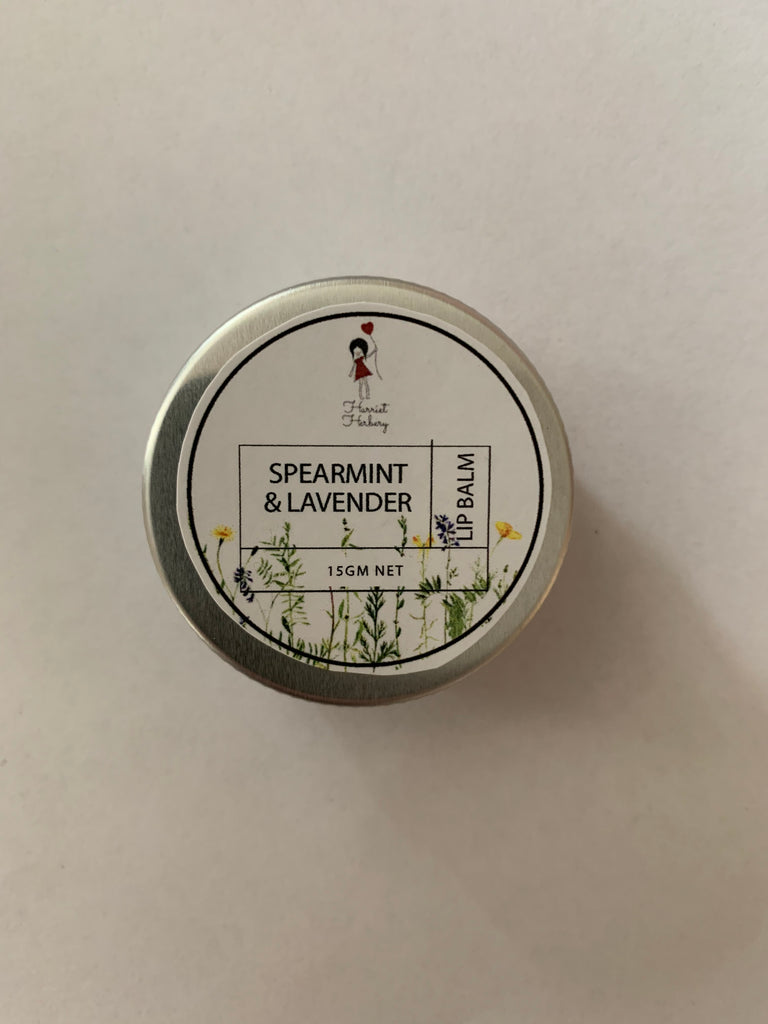 Lip Balm - Spearmint & Lavender - Harriet Herbery