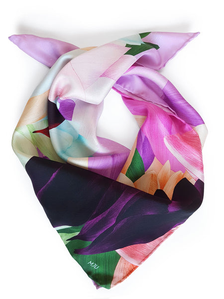 Silk scarf / Eternal Spring