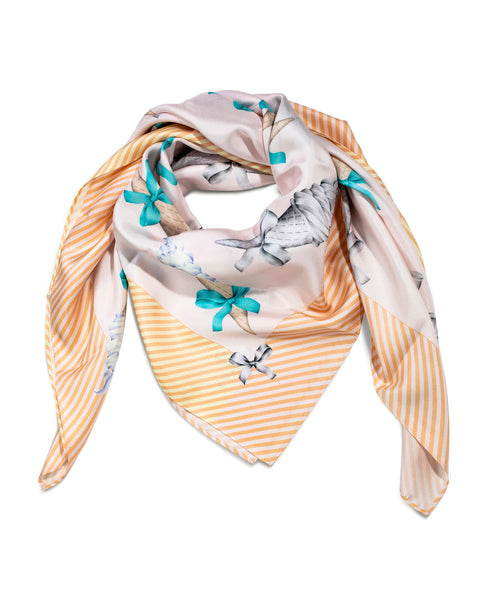 Silk scarf / Ice Cream Passion 2