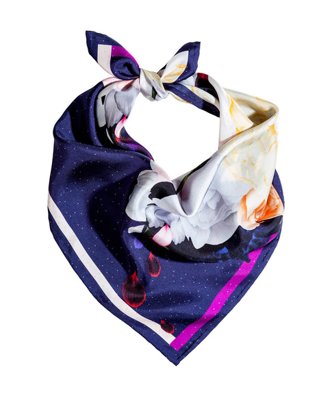 Silk scarf / Starlight