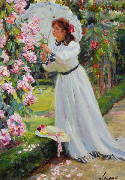 Alexander Averin Oil on canvas (1952) Russian.