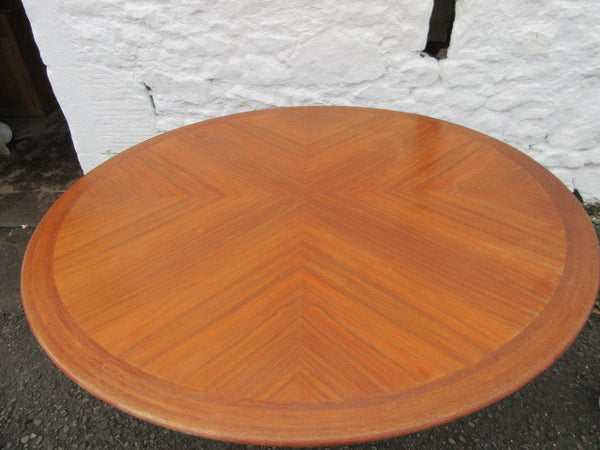 20th century modernist teak and rosewood centre table - Country Homes Antiques