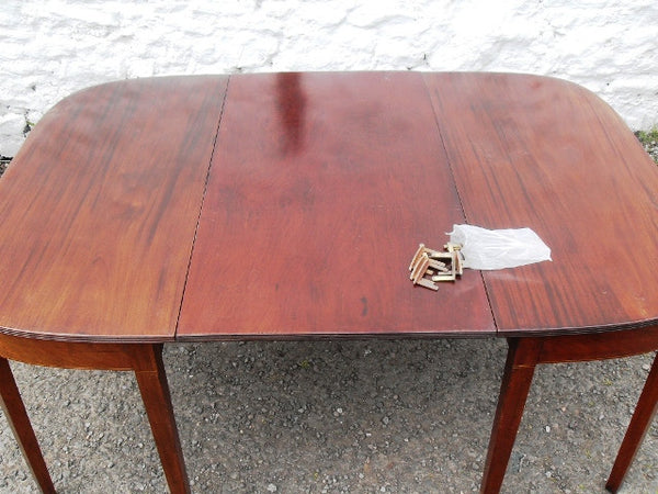 Georgian double d end table - Country Homes Antiques, SCOTLAND