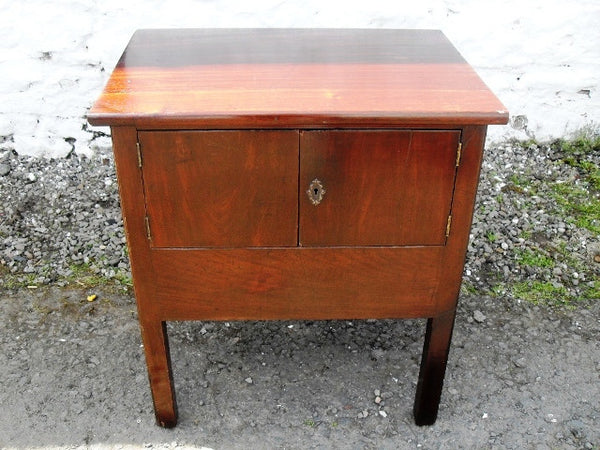 Georgian mahogany bed cabinet - Country Homes Antiques