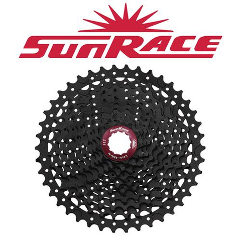 SUNRACE MX3 10 SPEED 11-42T BLACK CASSETTE