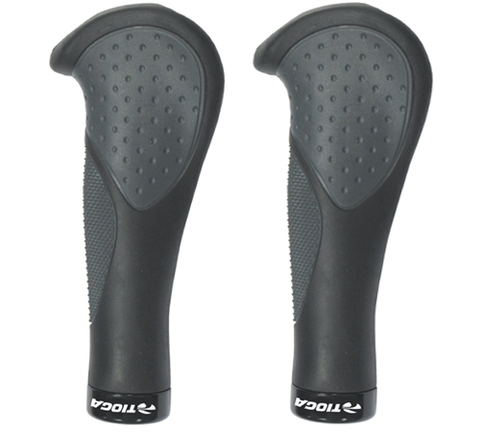 TIOGA ERGO COMFORT GRIP BLACK GREY