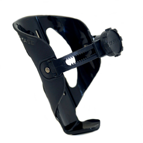 JETBLACK BICASE ADJUSTABLE BOTTLE CAGE BLACK