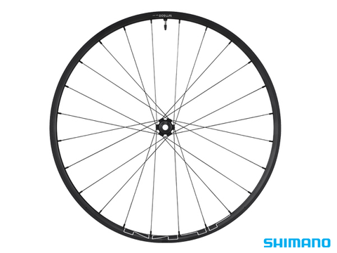 "SHIMANO WH-MT600 29"" FRONT WHEEL BLACK 110x15mm CENTERLOCK TUBELESS"