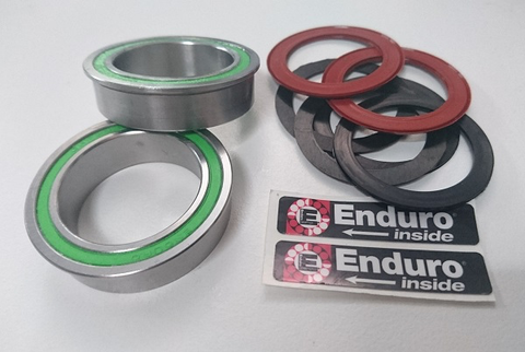ENDURO UPGRADE BOTTOM BRACKET KIT SUIT 30MM SPINDLE IN BB86/92 FRAME