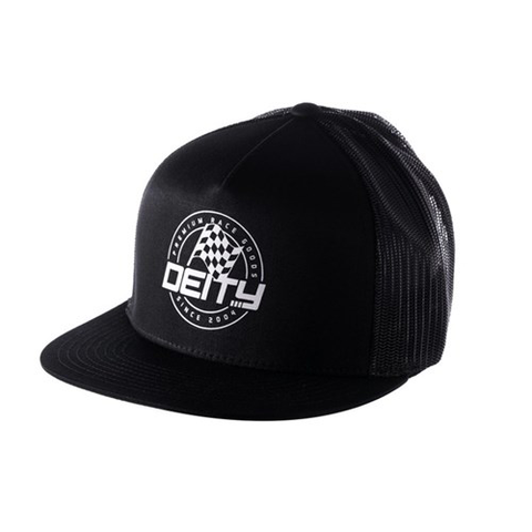 DEITY PODIUM TRUCKER HAT BLACK OSFA
