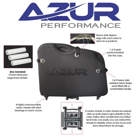 AZUR BICYCLE CASE BIKE TRANSPORT BAG