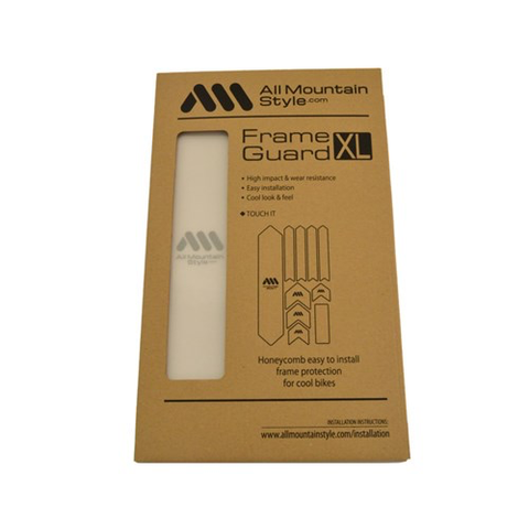 ALL MOUNTAIN STYLE (AMS) FRAME GUARD XL CLEAR /SILVER