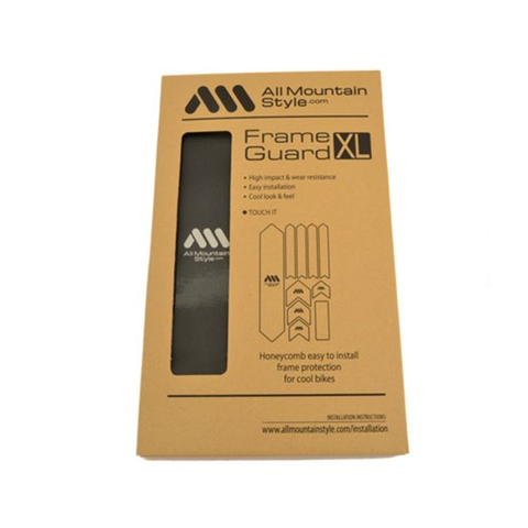 ALL MOUNTAIN STYLE (AMS) FRAME GUARD XL BLACK /SILVER FRAME PROTECTION