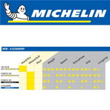 "MICHELIN COUNTRY GRIP'R ACCESS 27.5 X 2.10"" WIRE BLACK TYRE"