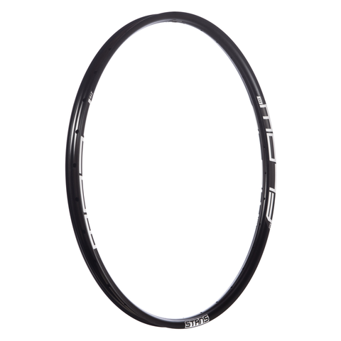 "STANS NOTUBES FLOW EX3 32H RIM 27.5"", BLACK DISC ISO ERD 564mm 584x29.0"