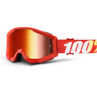 100% GOGGLES STRATA MIRROR LENS FURNACE