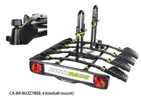 BUZZYBEE PLATFORM RACK 4 BIKE CAR RACK