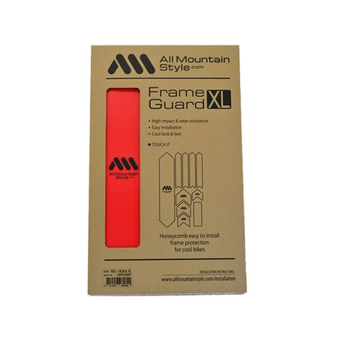 ALL MOUNTAIN STYLE (AMS) FRAME GUARD XL RED RED
