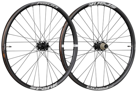 "SPANK OOZY TRAIL 345 29"" BOOST FRONT 110X15MM REAR 148X12MM BLACK WHEEL SET"