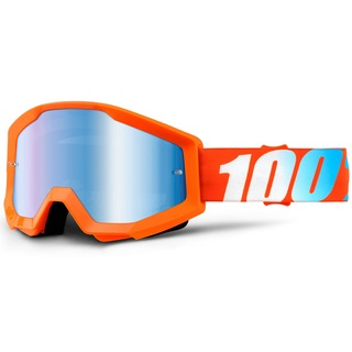 100% GOGGLES STRATA MIRROR LENS ORANGE