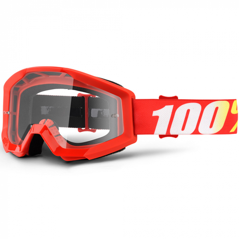 100% GOGGLES STRATA FURNACE (CLEAR LENS)
