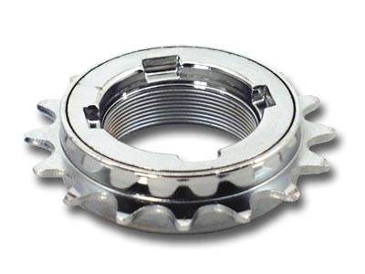 "DICTA EZ-OFF 17T 3/32"" CLUTCH PRO CHROME FREEWHEEL"