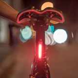 KNOG PLUS 40 LUMENS FRONT 20 LUMENS REAR TWIN PACK