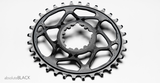 ABSOLUTE BLACK OVAL SRAM XX1 DIRECT MOUNT 34T BLACK CHAINRING