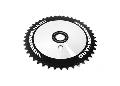 HARO OLD SCHOOL BMX 44T TEAM CHAIN WHEEL BLACK