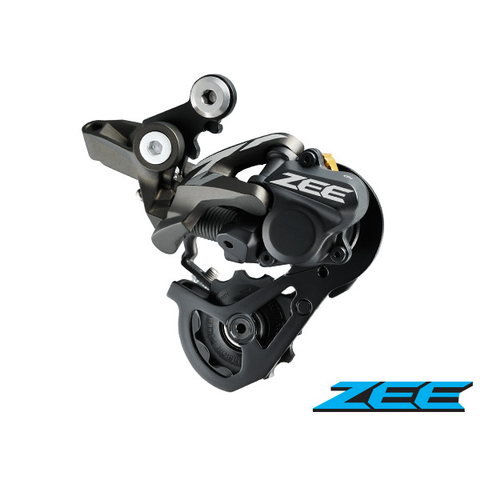 SHIMANO ZEE RD-M640 SHADOW+ FR 10 SPEED BLACK WIDE RATIO REAR DERAILLEUR