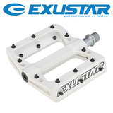 "EXUSTAR PB71 FLAT 9/16"" THERMO PLASTIC SEALED BEARING PEDAL"