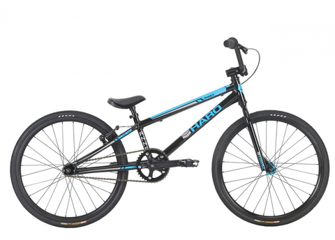 "HARO '19 ANNEX JUNIOR 18.25"" TT RACE BMX BIKE GLOSS BLACK"