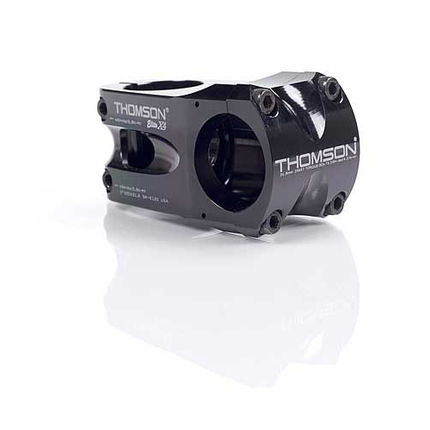 THOMSON ELITE X4 BLACK 60 X 31.8MM 0 DEGREE STEM