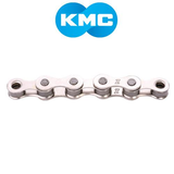 "KMC S1 1/2X1/8"" SINGLE SPEED 116 LINKS SILVER CHAIN"