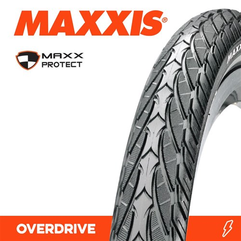 MAXXIS OVERDRIVE 700 X 38C MAXX PROTECT 60TPI TYRE