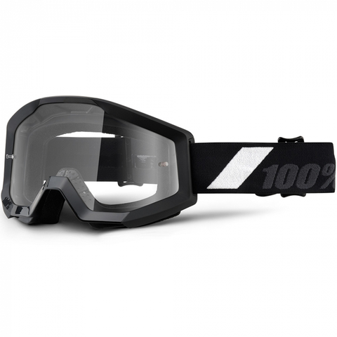 100% GOGGLES YOUTH STRATA GOLIATH (CLEAR LENS)