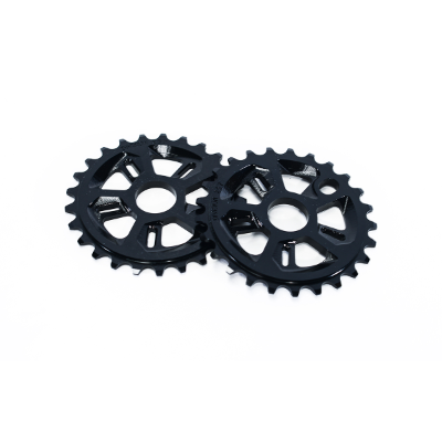 DIVISION FORCE 28T BLACK SPROCKET