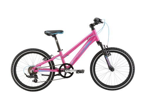 MERIDA KIDS MATTS J20 GIRLS CANDY PINK/LIGHT BLUE BIKE