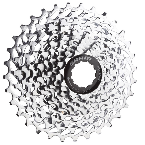 SRAM PG-1050 10 SPEED 11-36 CASSETTE
