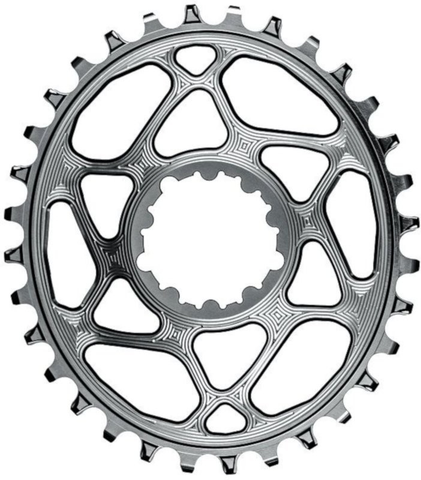 ABSOLUTE BLACK SRAM DIRECT MOUNT 32T GREY CHAINRING