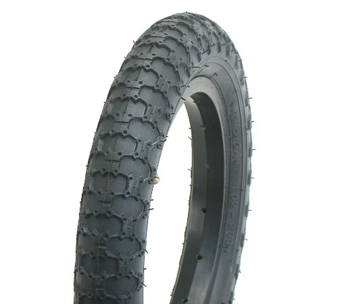 "BC BMX COMP III COPY 12-1/2 X 2-1/4"" BLACK TYRE"
