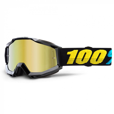 100% GOGGLES ACCURI MIRROR LENS VIRGO