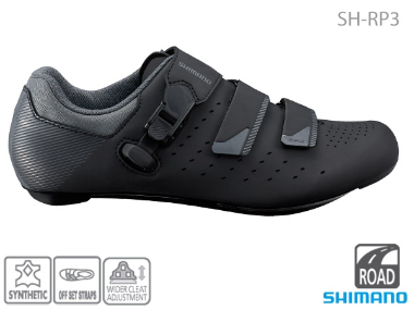 SHIMANO RP-301 BLACK ROAD SHOES