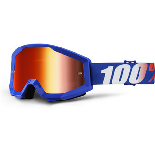 100% GOGGLES STRATA MIRROR LENS NATION