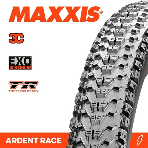 "MAXXIS ARDENT RACE 29 X 2.20"" TR 3C EXO TYRE FOLD 120TPI"