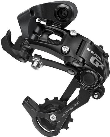 SRAM GX 10 SPEED MEDIUM CAGE BLACK TYPE 2.1 REAR DERAILLEUR